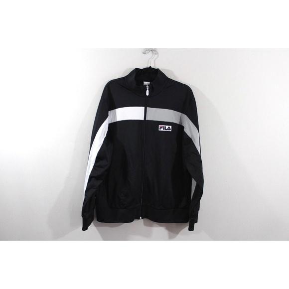 Vintage 90s Fila Bjorn Borg Mens Jacket Size L